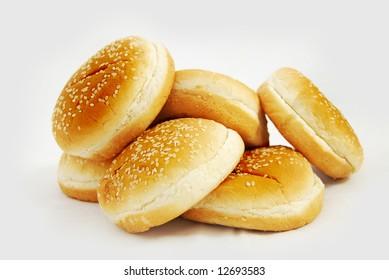 a buns for hamburgers