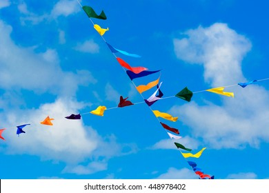 Bunting flags for all events and occasions.