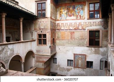 Buonconsiglio Castle Trento, Italy