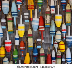 Buoys Commercial Street Provincetown Massachusetts