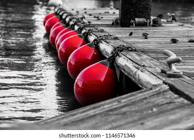 buoys selectively colored