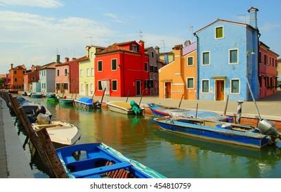 Burano island,Italy