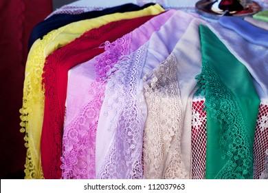 Burano lace scarf