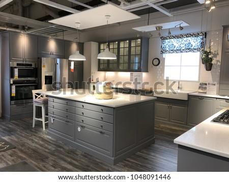 Burbank Ca March 16 2018 Interior Stock Photo Edit Now 1048091446