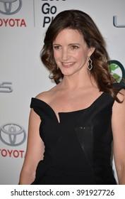 BURBANK, CA - OCTOBER 24, 2015: Kristin Davis at the 25th Annual Environmental Media Awards at Warner Bros. Studios, Burbank