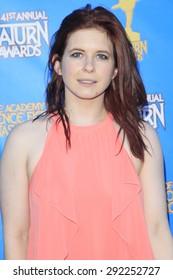 BURBANK - JUN 25: Magda Apanowicz at the 41st Annual Saturn Awards at The Castaway on June 25, 2015 in Burbank, California,