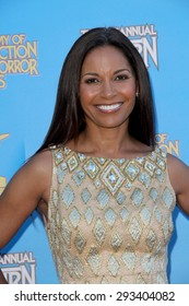BURBANK - JUNE 25: Salli Richardson-Whitfield arrives at the 41st Annual Saturn Awards on Thursday, June 25, 2015 at the Castaway Restaurant in Burbank, CA.
