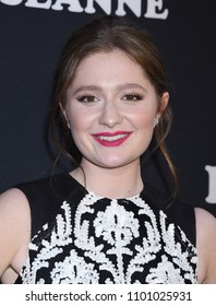 "BURBANK - MAR 23:  Emma Kenney arrives to the ""Roseanne"" Series Premiere Event  on March 23, 2018 in Burbank, CA"