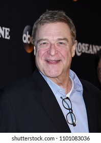 "BURBANK - MAR 23:  John Goodman arrives to the ""Roseanne"" Series Premiere Event  on March 23, 2018 in Burbank, CA"