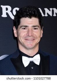 "BURBANK - MAR 23:  Michael Fishman arrives to the ""Roseanne"" Series Premiere Event  on March 23, 2018 in Burbank, CA"