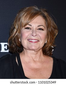 "BURBANK - MAR 23:  Roseanne Barr arrives to the ""Roseanne"" Series Premiere Event  on March 23, 2018 in Burbank, CA"