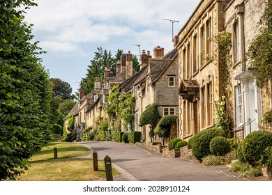 Burford is a town on the River Windrush, in the Cotswold hills, in the West Oxfordshire district of Oxfordshire, England. It is often referred to as the 'gateway' to the Cotswolds, UK 27 July 2021.