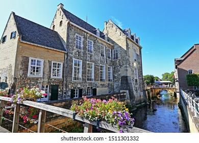 Burg den Halder in Valkenburg, Limburg, Netherlands