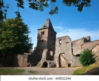 Burg Frankenstein in Germany