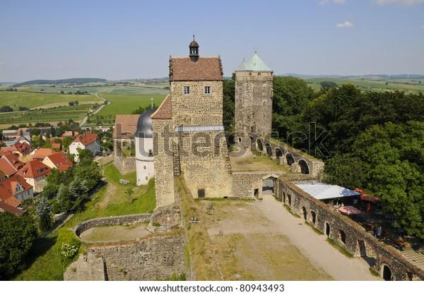 Burg Stolpen, Stolpen, Sachsen, Deutschland