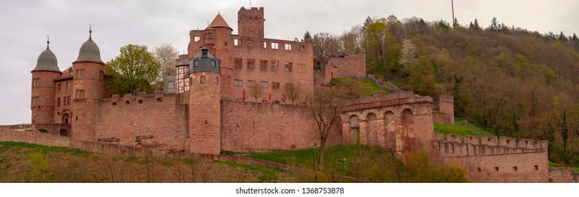 Burg Wertheim at Spring
