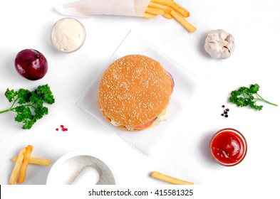 Unhealthy Food Top Stock Photos, Images & Photography