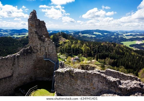 Burgruine Ruttenstein, Austria.