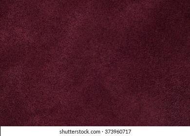 Burgundy suede texture background