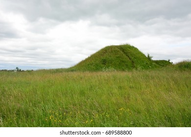 Burial mound- the place, as a legend says, where is the Prophetic Oleg funeral - Shutterstock ID 689588800