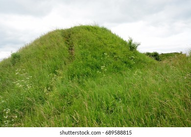 Burial mound- the place, as a legend says, where is the Prophetic Oleg funeral - Shutterstock ID 689588815