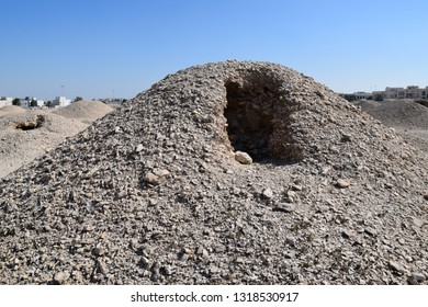 Burial Mounds of Sumerian civilization. Date to Dilmun era (5000 BC - 100 BC). A'ali town area. Kingdom of Bahrain