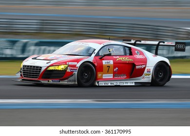 Buriram,Thailand - January 10, 2016: Round 3 of the 2016 Asian Le Mans Series took place at the Chang International Circuit, in Buriram, Thailand, on January 8-10, 2016.