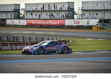BURIRAM-THAILAND-8oct,2017:Chang Super GT Race 2017 Round 7,Chang International Circuit, Buriram, Thailand.