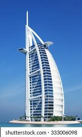 Burj Al Arab Hotel, Dubai. 08 January 2015.
