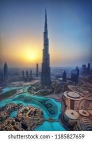 Burj Kalifa, Dubai, UAE taken in 2015