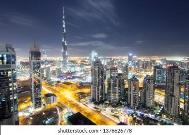 Burj khalifa from MBK tower,Dubai, Uae. taken 12-12-2016.