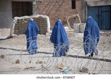 Burka and barbwire