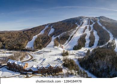 Burke Mountain - Vermont Ski Area Winter