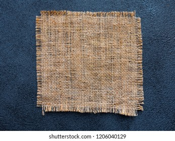 Burlap as background