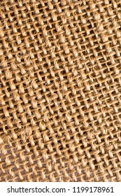 Burlap Fabric and closeup sackcloth woven texture pattern background