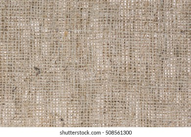 Burlap Sacking Texture Background