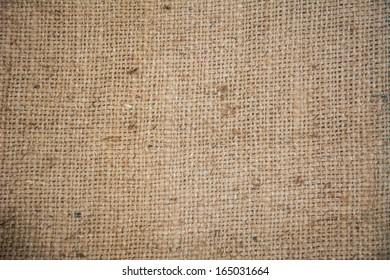 Burlap texture background