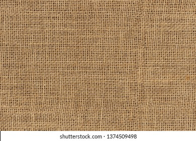 Burlap woven texture seamless. jute background close up macro