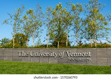 BURLINGTON, VT, USA, September 27, 2017 - University of Vermont   Burlington, VT.