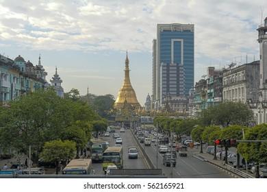 Burma. Yangon