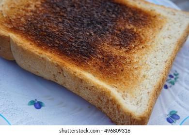 burn bread or burn toast