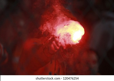 Burn flare