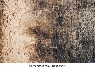 Burned wall texture background