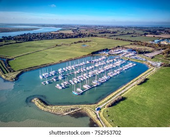 Burnham-on-Crouch, Essex town with strong links to sailing.  A large marina, multiple mid-river moorings and a number of pontoons along the riverside make this one of Essex's top sailing destinations