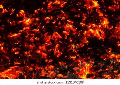 burning coals of the underworld