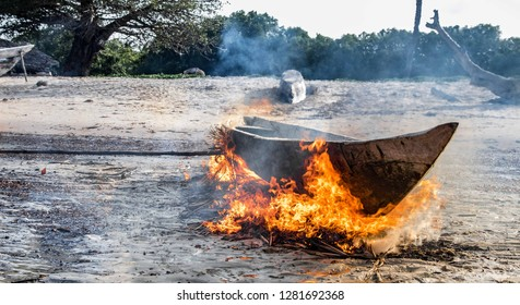 burning down the boat