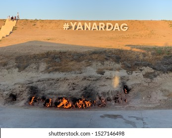 The Burning mountain Azerbaijan Yanar Dag