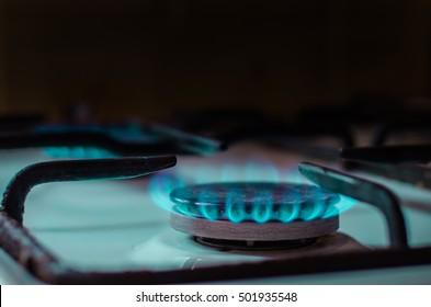 Burning natural gas, Kitchen Heater
