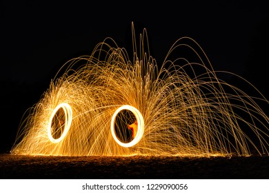 Burning Steel Wool Photography Duo