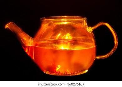 Burning tea